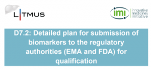 LITMUS Detailed plan for submission of biomarkers to the regulatory authorities (EMA and FDA) for qualification
